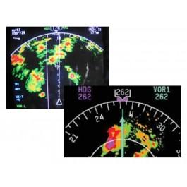 Cockpit Weather Radar