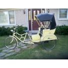 Vintage Pedicab / Rickshaw