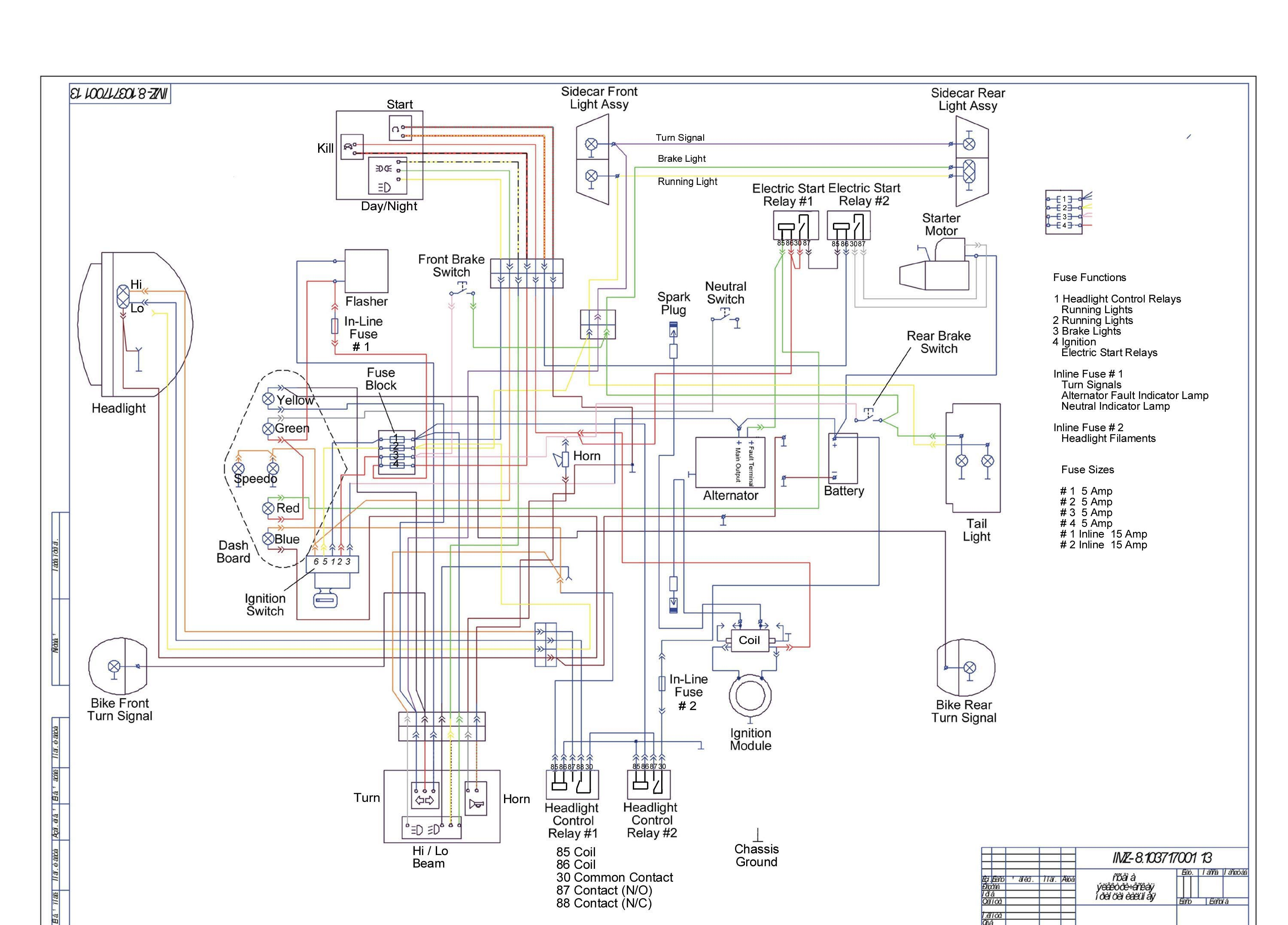 2010 Ural Wiring Diagram 2010 Wiring Diagrams Projects – Royal Enfield Wiring Diagram