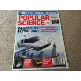 Popular Science Magazine  March 2006 - Flying Car