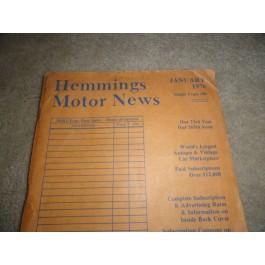 1976 Hemmings Motor News